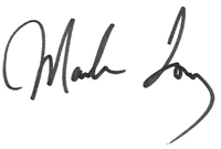 Mark Toney's Signature