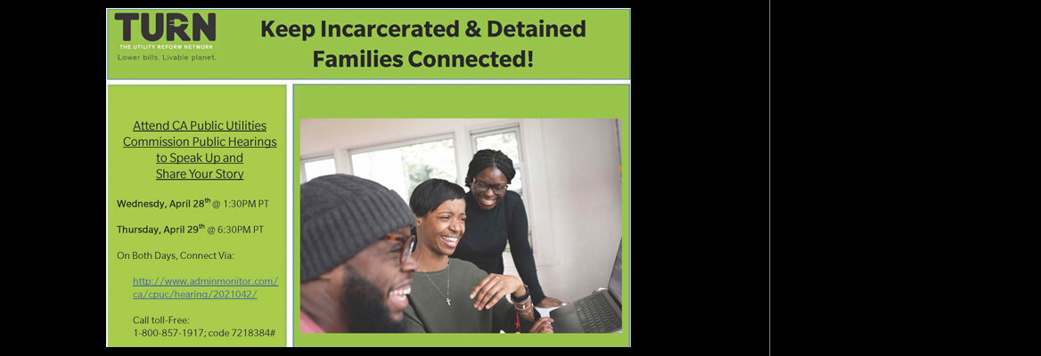 Keep Incarcerated and Detained Families Connected: photo of family laughing together