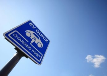 sign for charging point